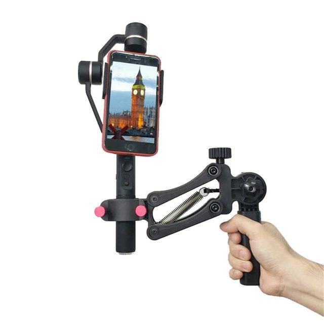 Phone Black Plastic Gimbal Gimbals Vlog Accessories