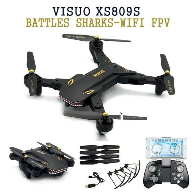 Eachine VISUO XS809S 720P WiFi FPV with HD Camera Drones Drones & Parts