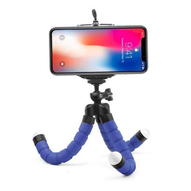 Colorful Flexible Phone Tripod Tripods Vlog Accessories